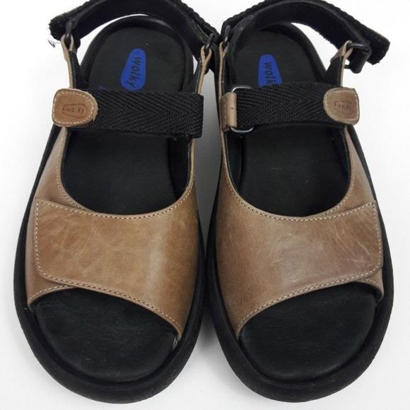 f51f7f4b4f2 Womens Wolky Jewel Brown Leather Walking Shoes. M 5b7466a2194dad05183b85ee